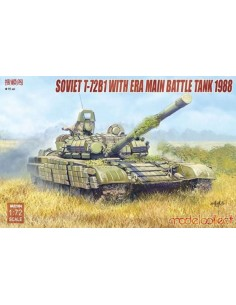 SOVIET T-72B1 WITH ERA MAIN...