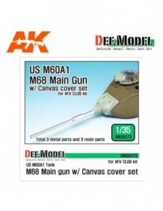 US M60A1 M68 MAIN GUN...