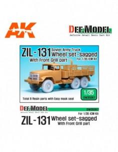 ZIL-131 SAGGED WHEEL SET...