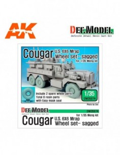 US COUGAR 6X6 MRAP SAGGED...