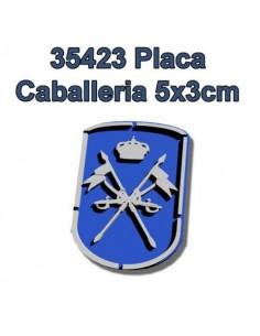 PLACA DEL ARMA DE CABALLERÍA