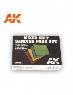 MIXED GRIT SANDING PADS SET...