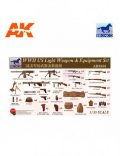 1/35 WWII US LIGHT WEAPON &...