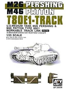 Cadenas T80E1 para M26 y...