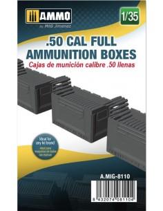 Cajas de munición calibre...