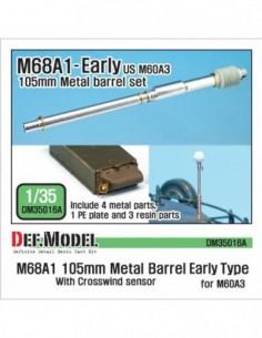 Cañón en metal M68A1 de...