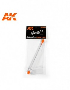 0.3 NEEDLE FOR AK AIRBRUSH