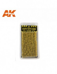 STEPPE TUFTS 12MM