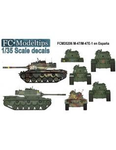 CALCAS PARA M-47/47 E-1 EN...