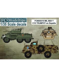 CALCAS PARA LOS M8 M20 Y...