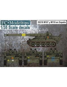 CALCAS PARA LOS M107 Y M110...
