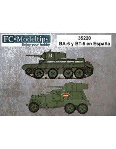 CALCAS PARA BA-6 Y BT-5 EN...