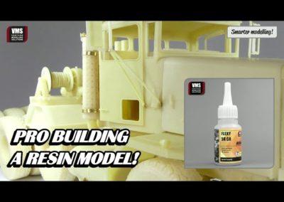 Cómo construir modelos de resina Tutorial de pegamento VMS FLEXY 5K RESIN CA