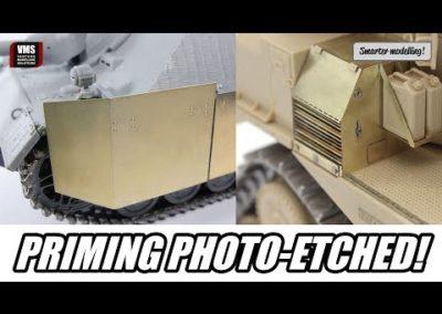 Cómo pintar piezas fotograbadas – VMS METAL PREP 4K metal primer